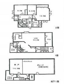 市川海老蔵の自宅間取り図